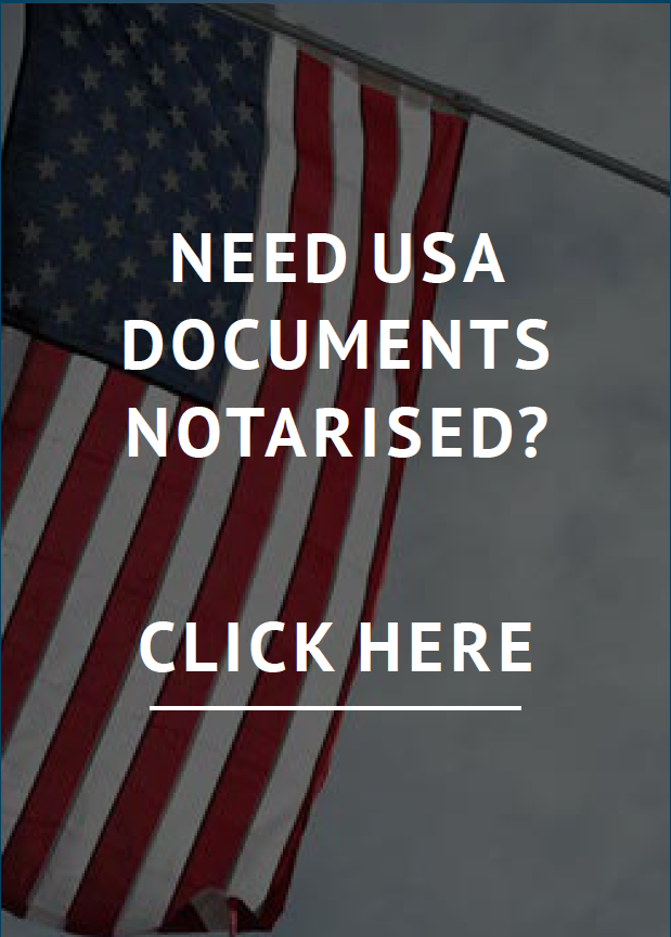 Need USA documents notarised?